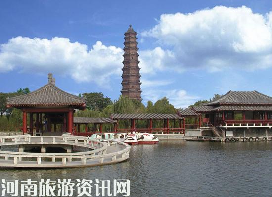 铁塔公园 水榭长廊