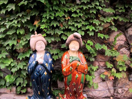唐朝婦女雕像
