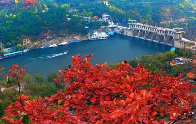 启动式上,长沙麓山景区,北京香山公园,河南青天河风景名胜区