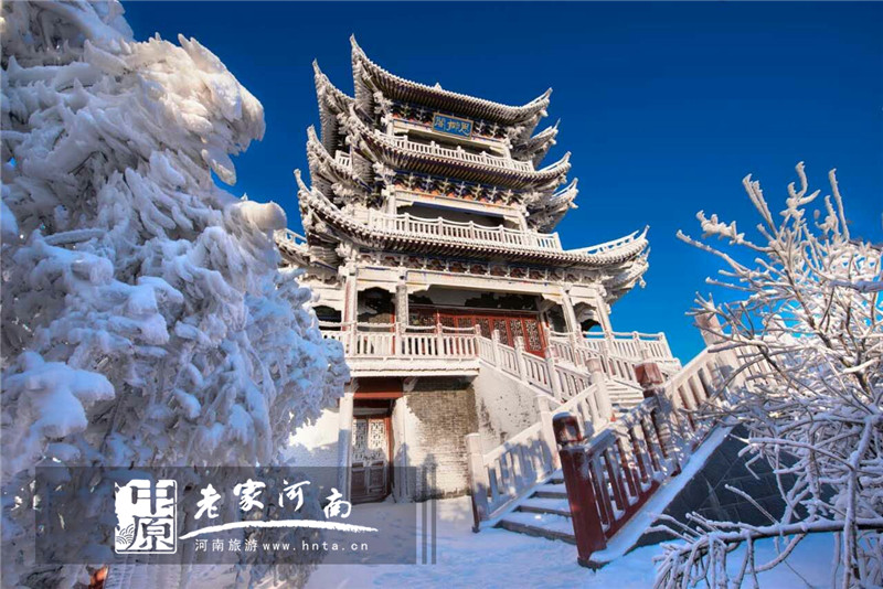 中国风建筑走廊ps素材