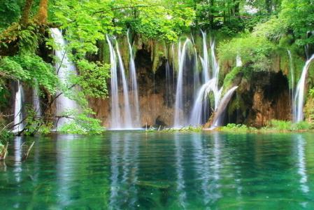 壁纸 风景 旅游 瀑布 山水 桌面 449_300