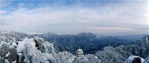 白云山迎来醉美冬景,摄影作品有奖征集中