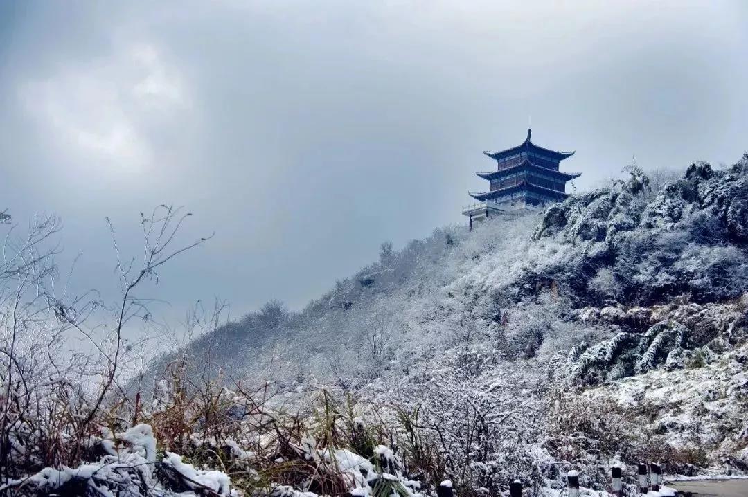 河南冬天的风景00字