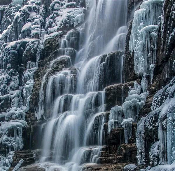 冰瀑奇观预告,云台山即将迎来最佳赏冰季!