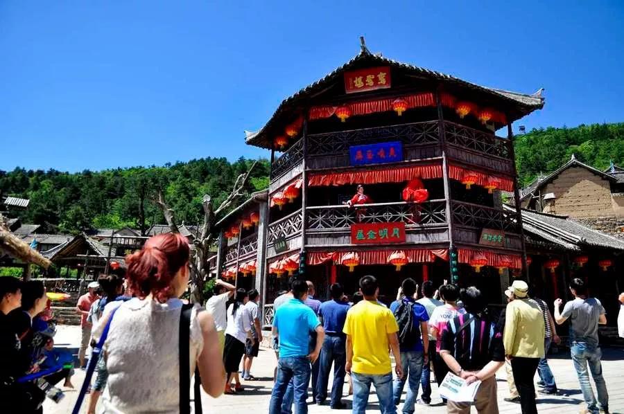栾川山花节再放大招           抱犊寨红色旅游风景区位于栾川县三川
