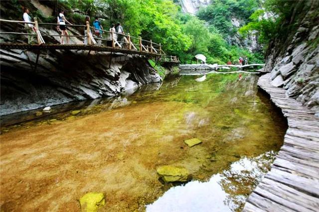 养子沟生态旅游风景区,位于河南省洛阳市栾川县的一个旅游