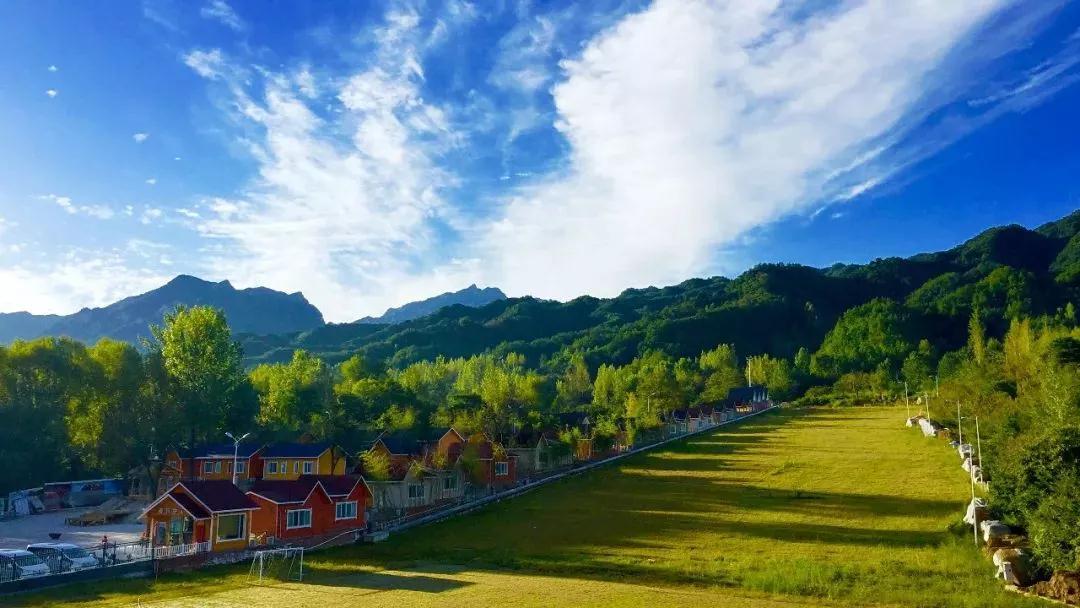 河南早晨风景图片