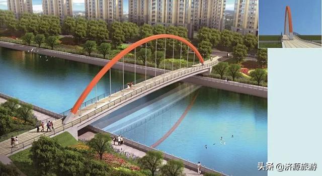 济源湨河:改造提升景观品质,助推全域旅游创建