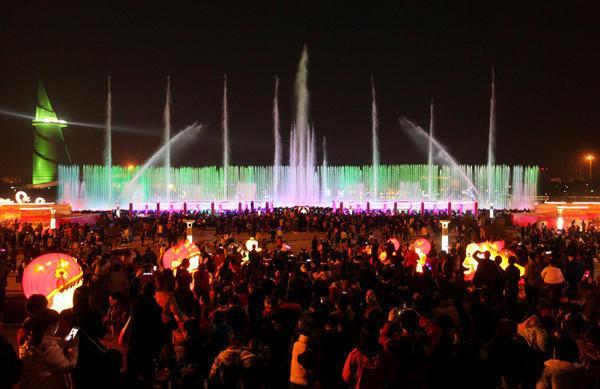 观民俗、赏花灯、看花展、品美食,绿博园传统文化盛典活动热闹迎新春!