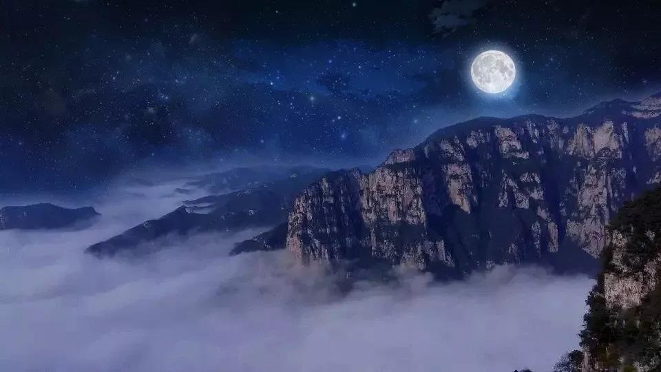 元宵节,来云台山赏花灯,邂逅超级月亮!c