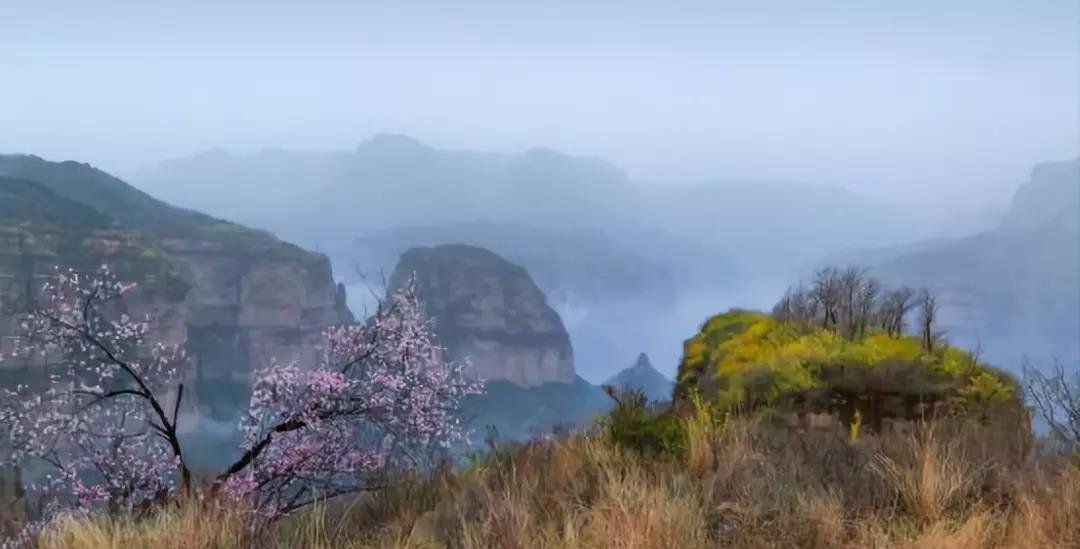太行大峡谷:醉美人间四月天,不负春光不负卿