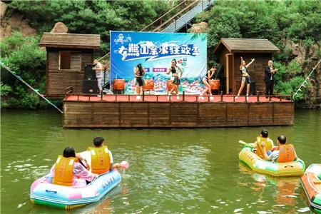 尖叫时刻,大熊山仙人谷漂流5月18日正式开漂!