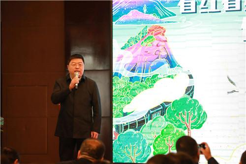 """""""看红看绿看蓝天、品山品水品毛尖""""信阳旅游推介会在郑州举行!"""